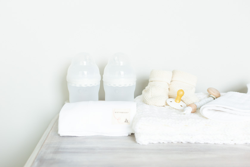 baby registry bottles and blankets