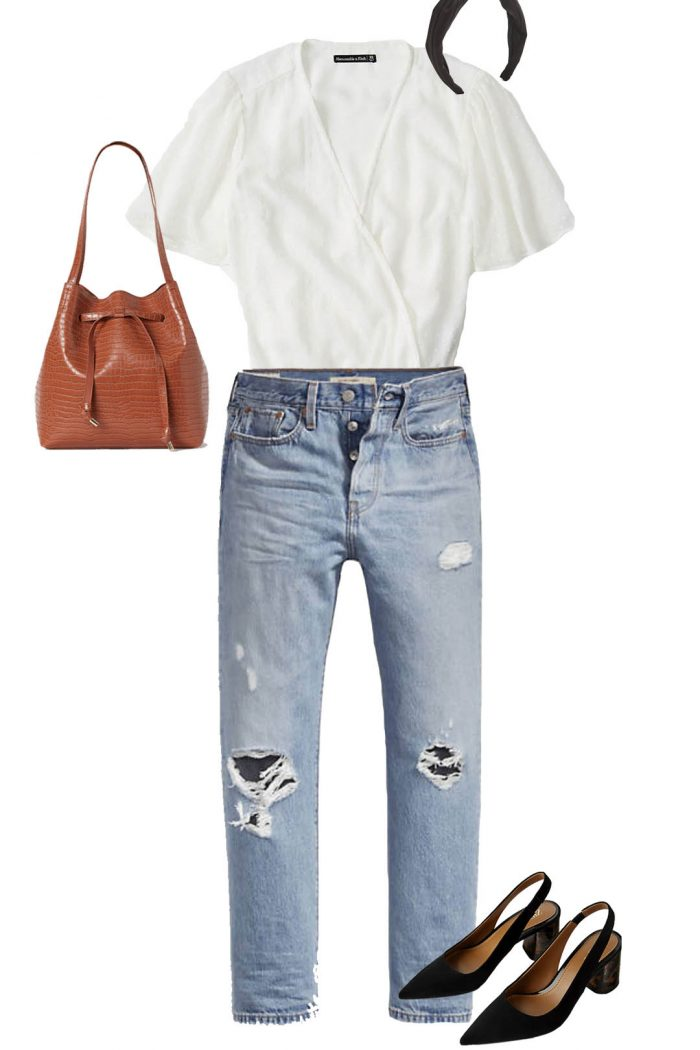 Capsule Wardrobe feat. Levi's Wedgie Straight Jeans