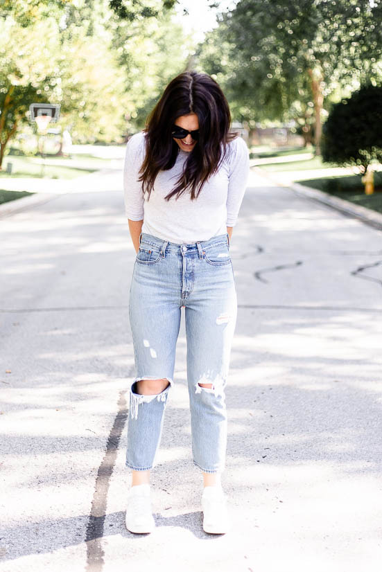 The Denim Report: Levi's Wedgie Straight